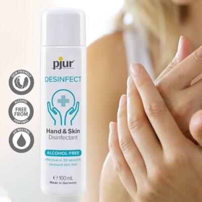Pjur desinfect Hud og hænder