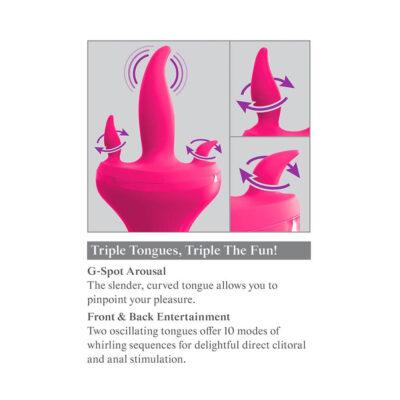3Some Holey Trinity - Pink Vibrator
