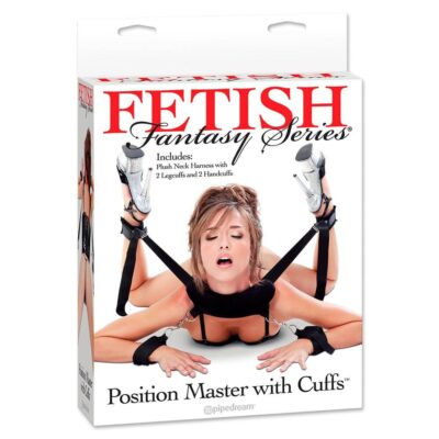 Fetish Fantasy Position Master med håndjern Sort
