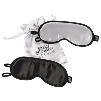 Fifty Shades of Grey Dobbelt Blindfold Sæt_0505056