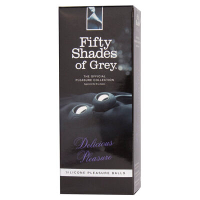 Fifty Shades of Grey Silikone Geisha-kugler