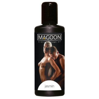 Magoon Plejende erotik massageolie med stimulerende Jasmin duft 100 ml