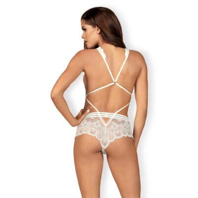 Obsessive Cosima Bodystocking hvid