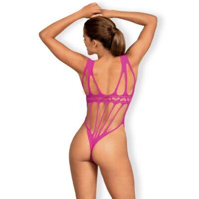 Obsessive Joelle Pink Bodystocking