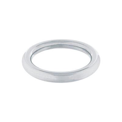 Rund Stål Penis Ring 8 mm - 45 mm