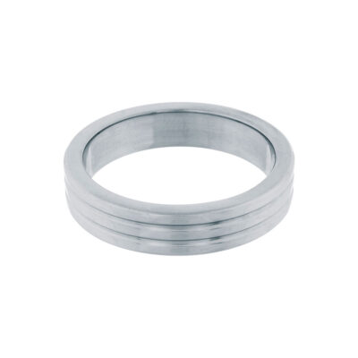 Stål Ribbed Penisring 40 mm