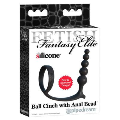 Ball Cinch med Anal Bead