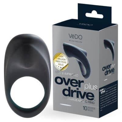 Vedo OverDrive Plus Penis Ring Med Vibrator_sort