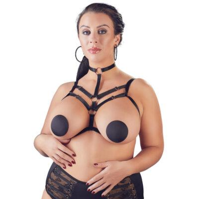Cottelli Curves Harness Dekorativ brystsele