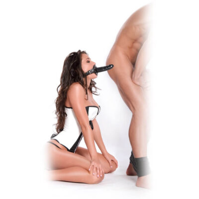 Deluxe Ball Gag with Dildo