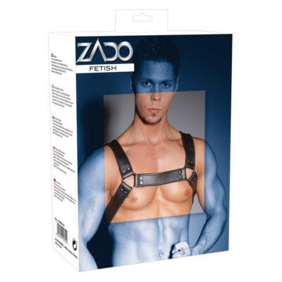 Zado Læder-brystharness