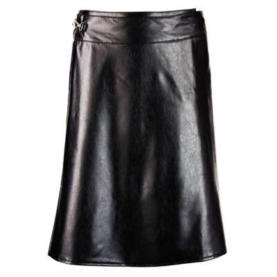 Imiteret læder nederdel til mænd
