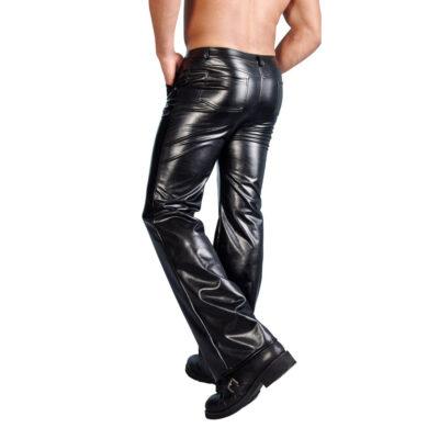 Imiteret læderbukser til mænd