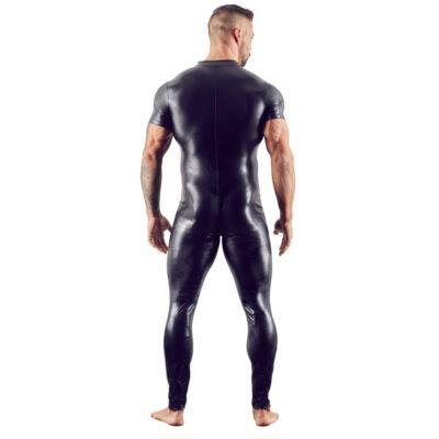 Jumpsuit med korte ærmer til mænd