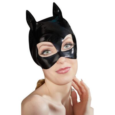 Black Level Lak Maske med katte øre