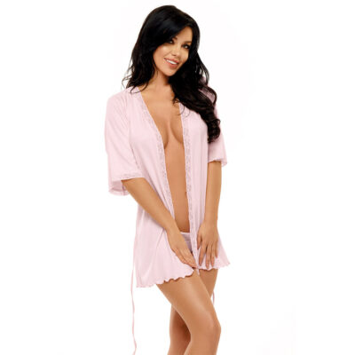 Beauty Night Fashion Marcy dressing gown pink