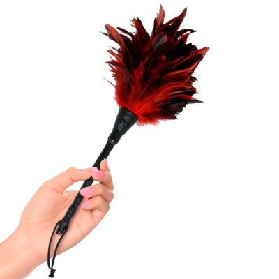 Fetish Fantasy Frisky Feather rød/sort