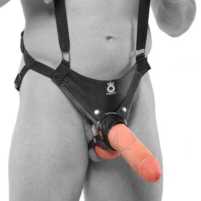 King Cock Strapon Harness med dildo