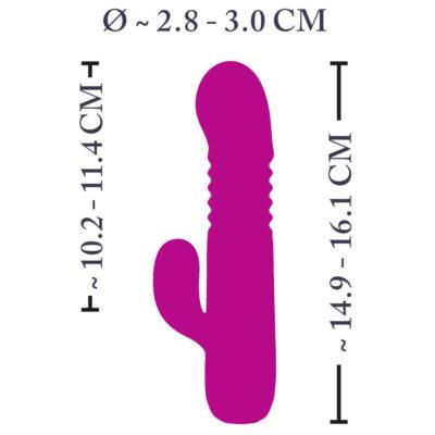 XouXou Rabbit Vibrator Pink