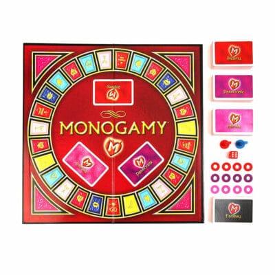 Monogamy Erotisk Brætspil på Dansk