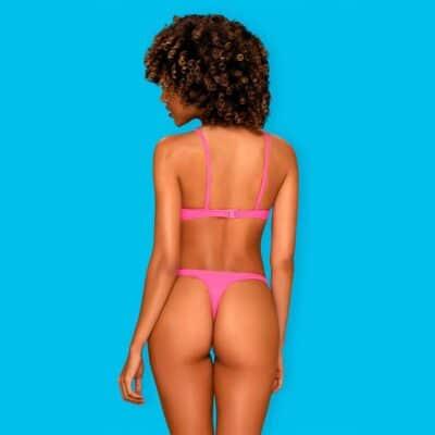 Obsessive Mexico Beach Bikini Neon-Pink