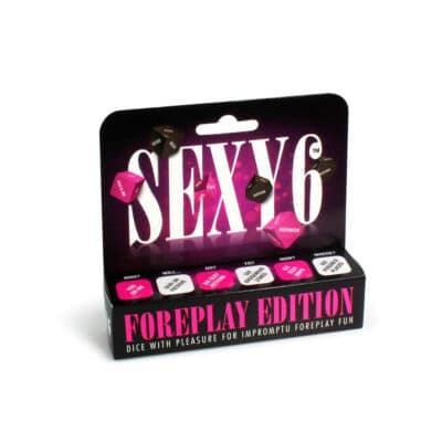 Sexy 6 Terninger Foreplay Edition