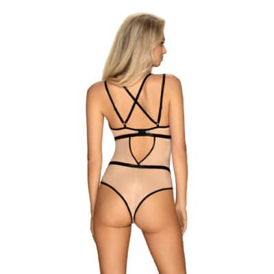 Obsessive Nudelia Bodystocking Nude