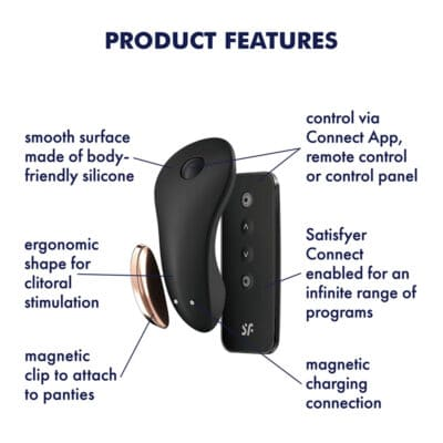 Satisfyer Little Secret Trusse Vibrator Sort