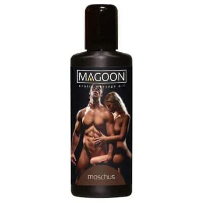 Magoon Plejende erotik massageolie med stimulerende Moskusduft 100 ml